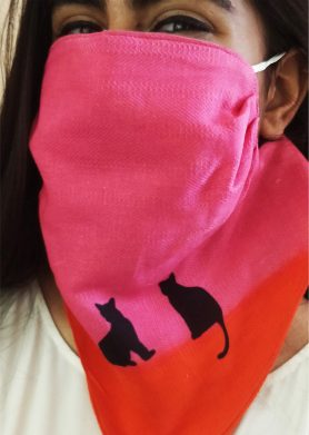 Cats Mask Scarf