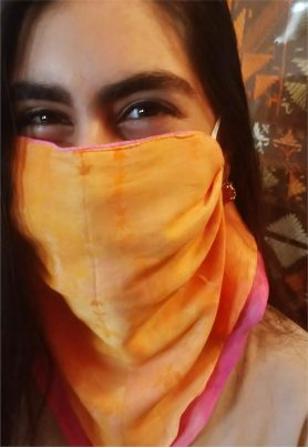 Coral Mask Scarf