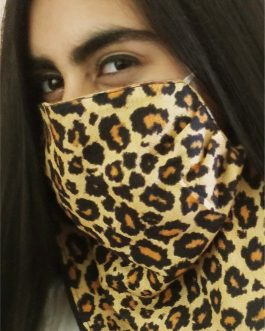 Leopard Mask Scarf