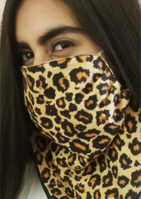 Leopard Mask Scarf