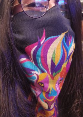 Lion Mask Scarf