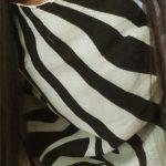 Zebra Mask Scarf