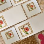 Lilies Stationery Set