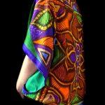 Blue Green Mandala Stolewrap by  Triveni Mahajan