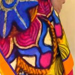 Multicoloured Stolewrap by  Triveni Mahajan