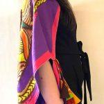 Pink Purple Mandala Stolewrap by  Triveni Mahajan