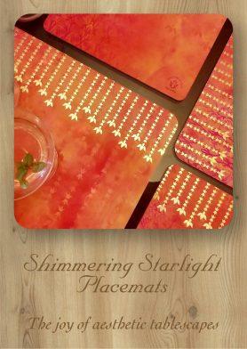 Shimmering Starlight Mats