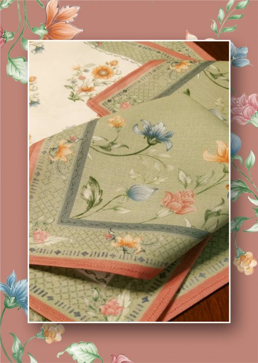 Autumn Fabric Napkins 2