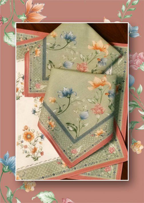 Autumn Fabric Napkins